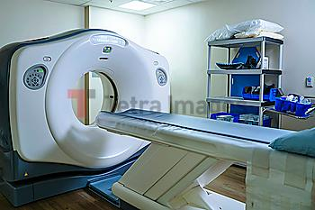 Scanner in hospital