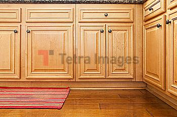 Part of kitchen cabinets