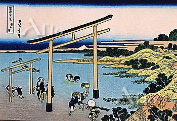 Bay Of Noboto, Thirty-Six Views Of Mt. Fuji, Hokusai