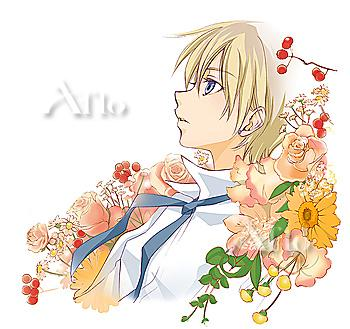 Flower And A Boy