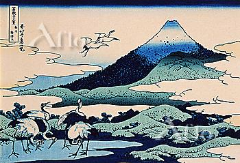 Umegawa In Sagami Province, Thirty-Six Views Of Mt. Fuji, Hokusai