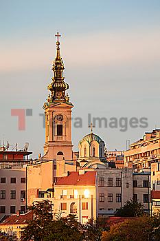 St. Michael´s Cathedral in Belgrade, Serbia