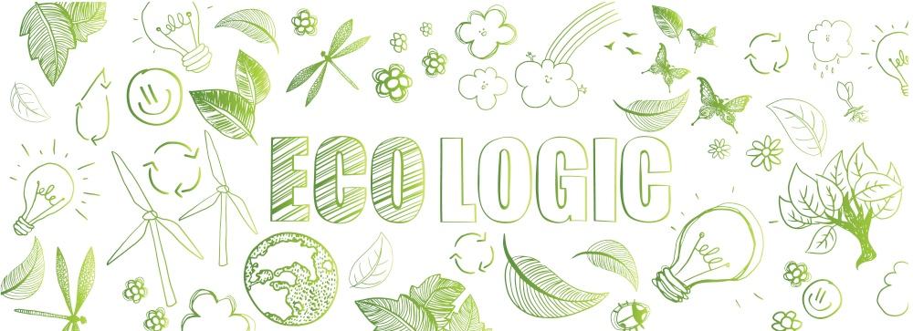 eco green theme background