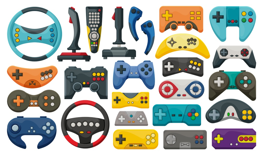 game console collection