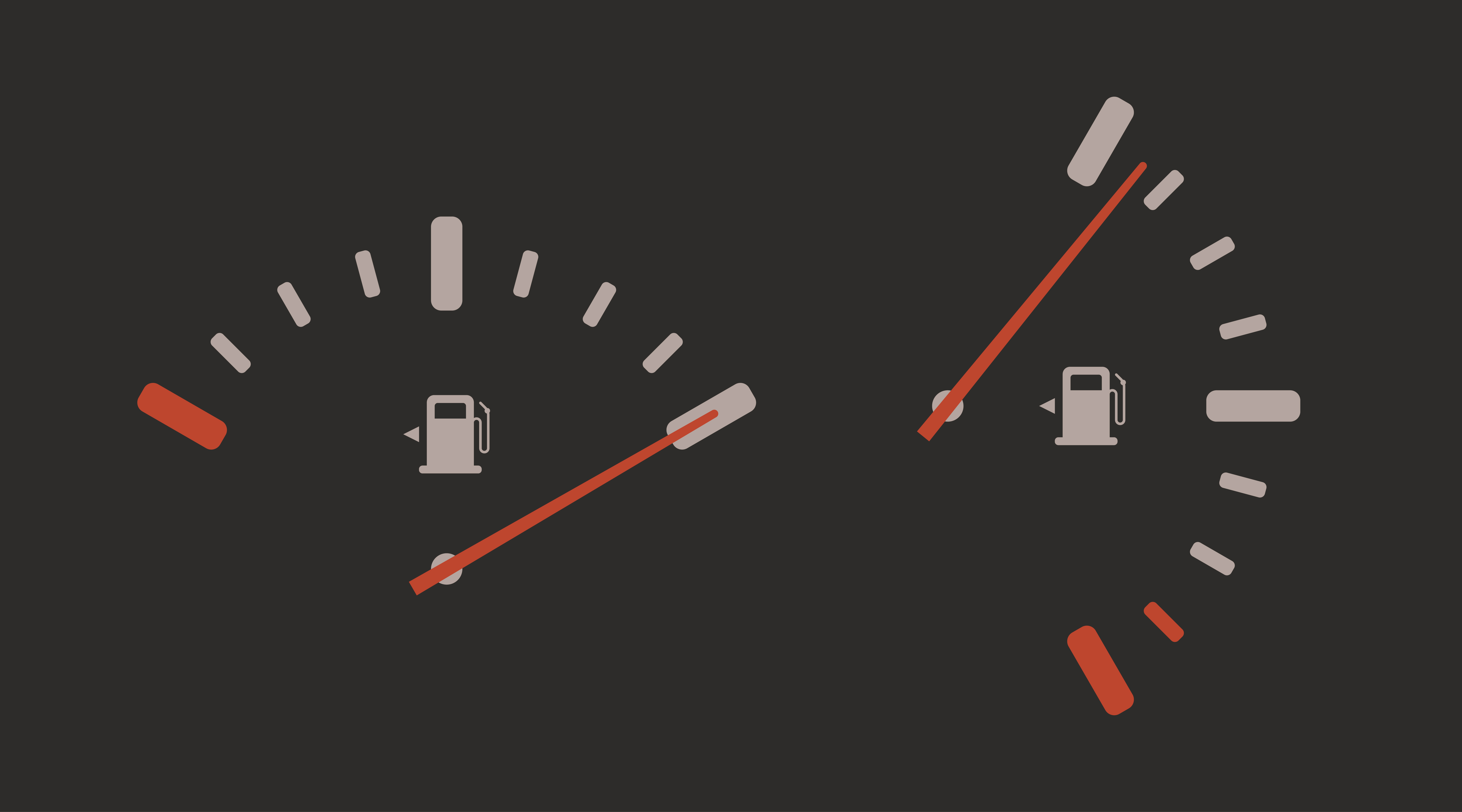 Fuel gauge indicator vector icon. Petrol pump station symbol. Full gasoline level manometr sign. Auto car indicator panel illustration