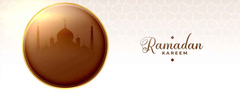 religious ramadan kareem fasting season islamic banner design